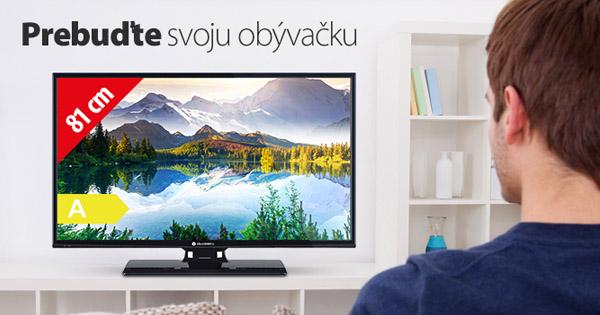 Nová LED televízia na Hej.sk už za 185€