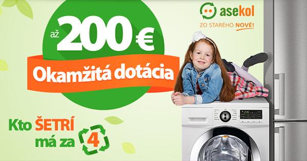 Okamžitá zľava až -200€ na Hej.sk