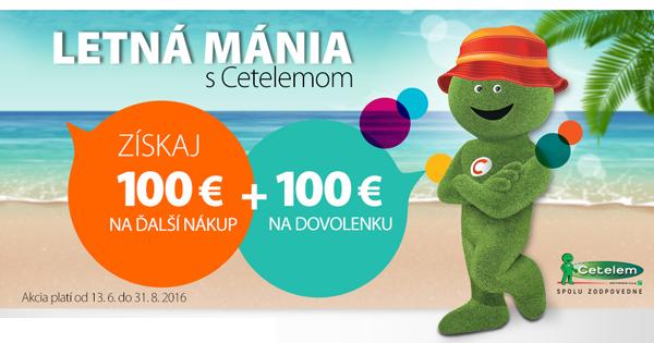 Získajte na Hej.sk za nákup na splátky 100€ + 100€